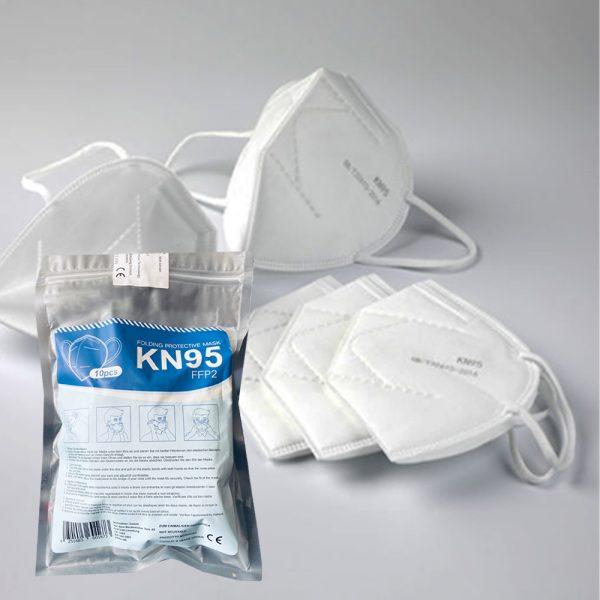 N95 face masks 10-pack