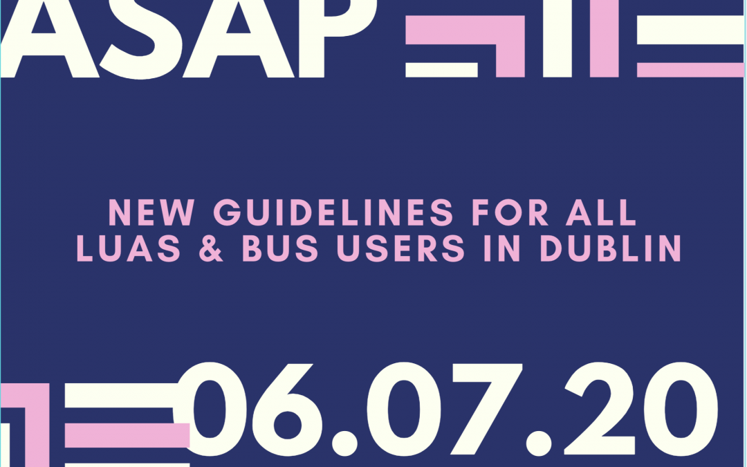 Here is some data about what you have to consider before travelling via train, bus or taxi in Dublin.